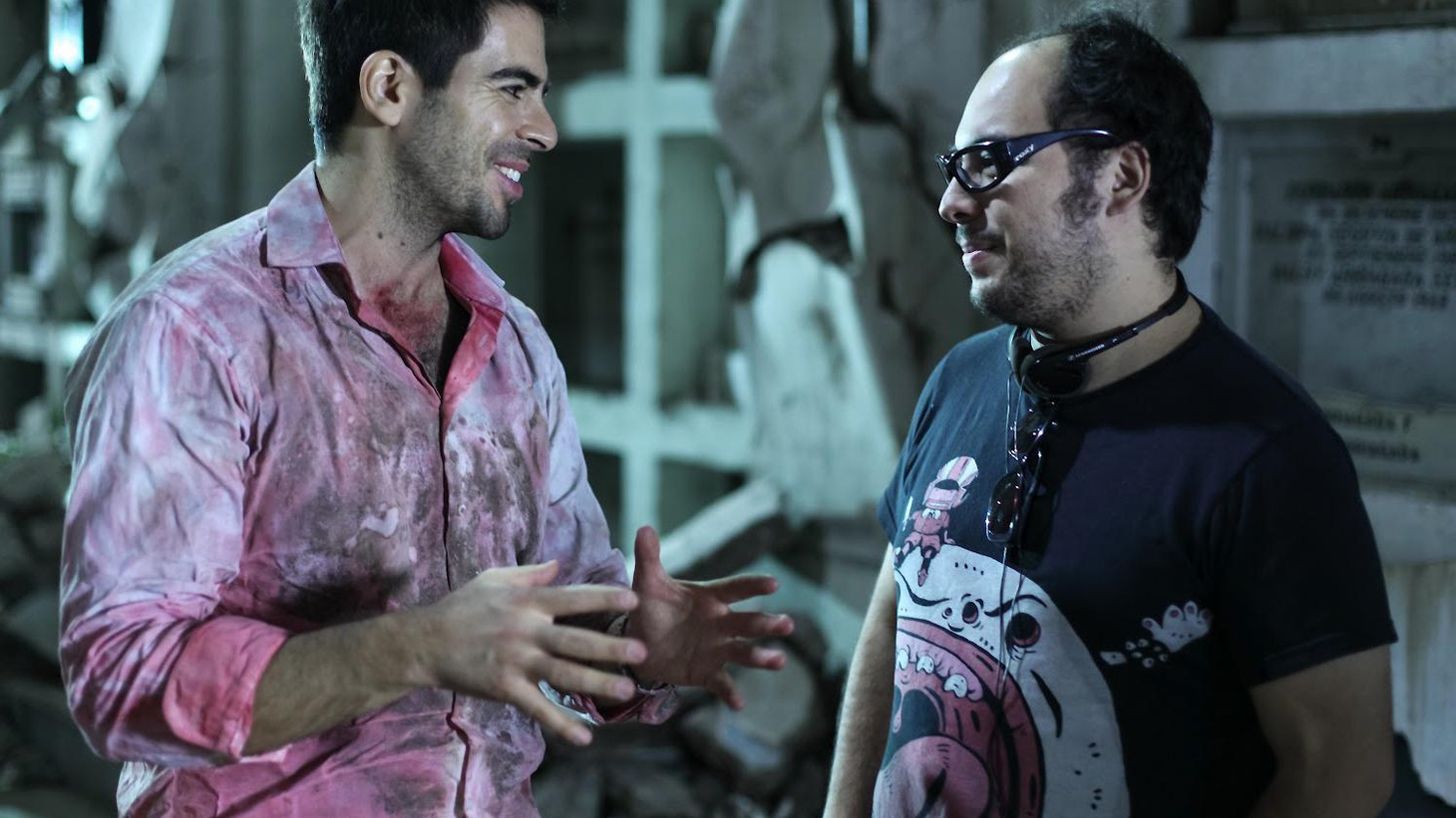 Eli Roth explains what happens when you cross a film purist with an octocam.