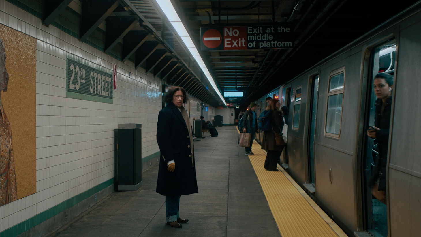 """Fran Lebowitz in the new Netflix limited series """"Pretend It's a City."""""""