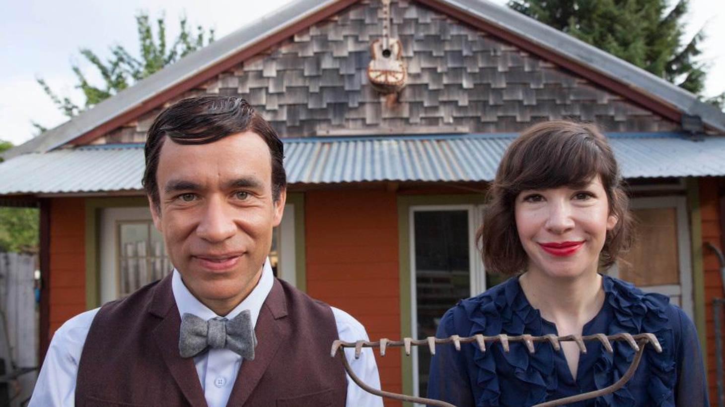 "The creators and stars of IFC's original sketch comedy series ""Portlandia"" dish on its fourth season."