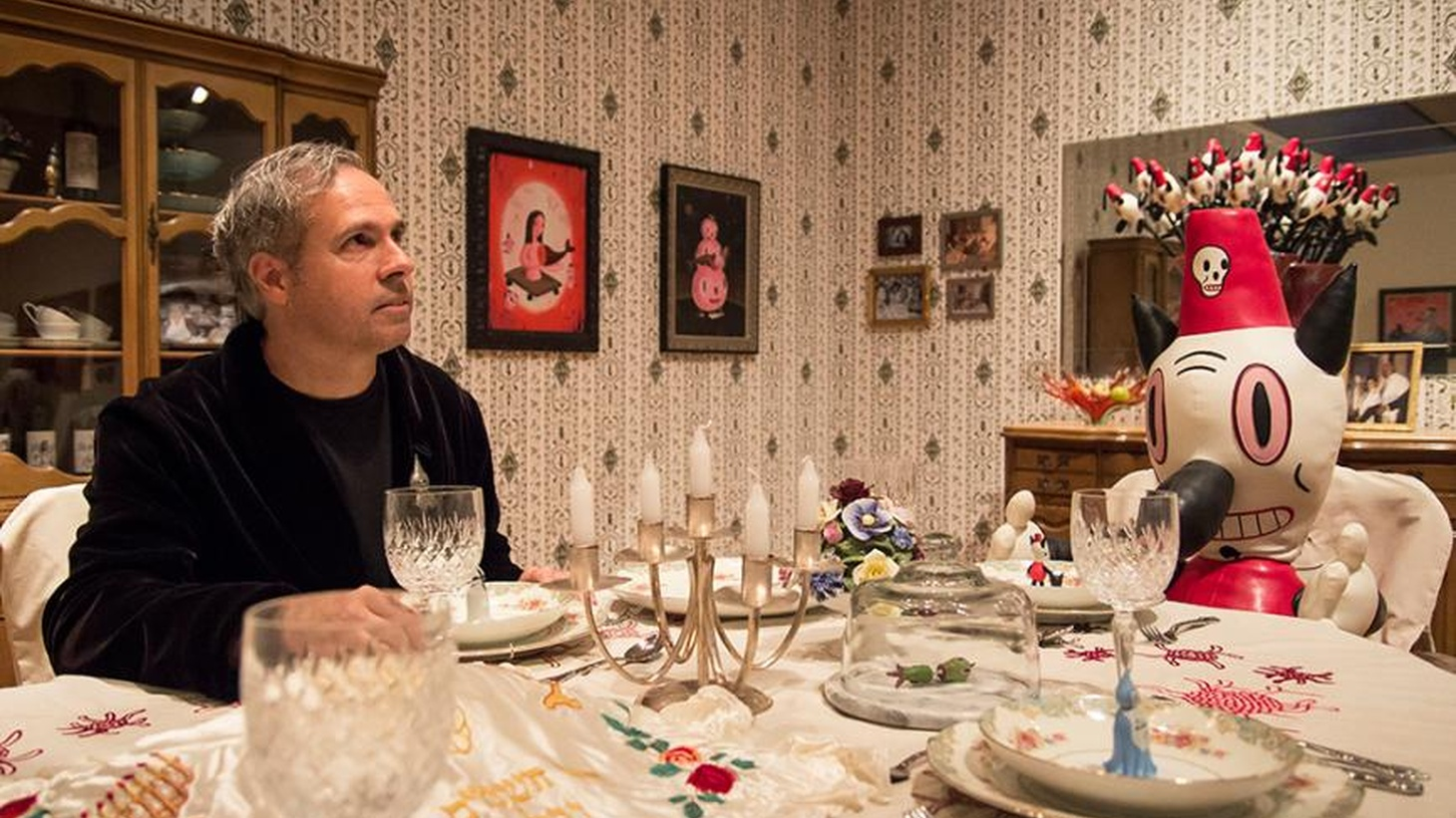 Pervasive artist Gary Baseman invites us into his childhood home, literally, with his new exhibit at the Skirball.