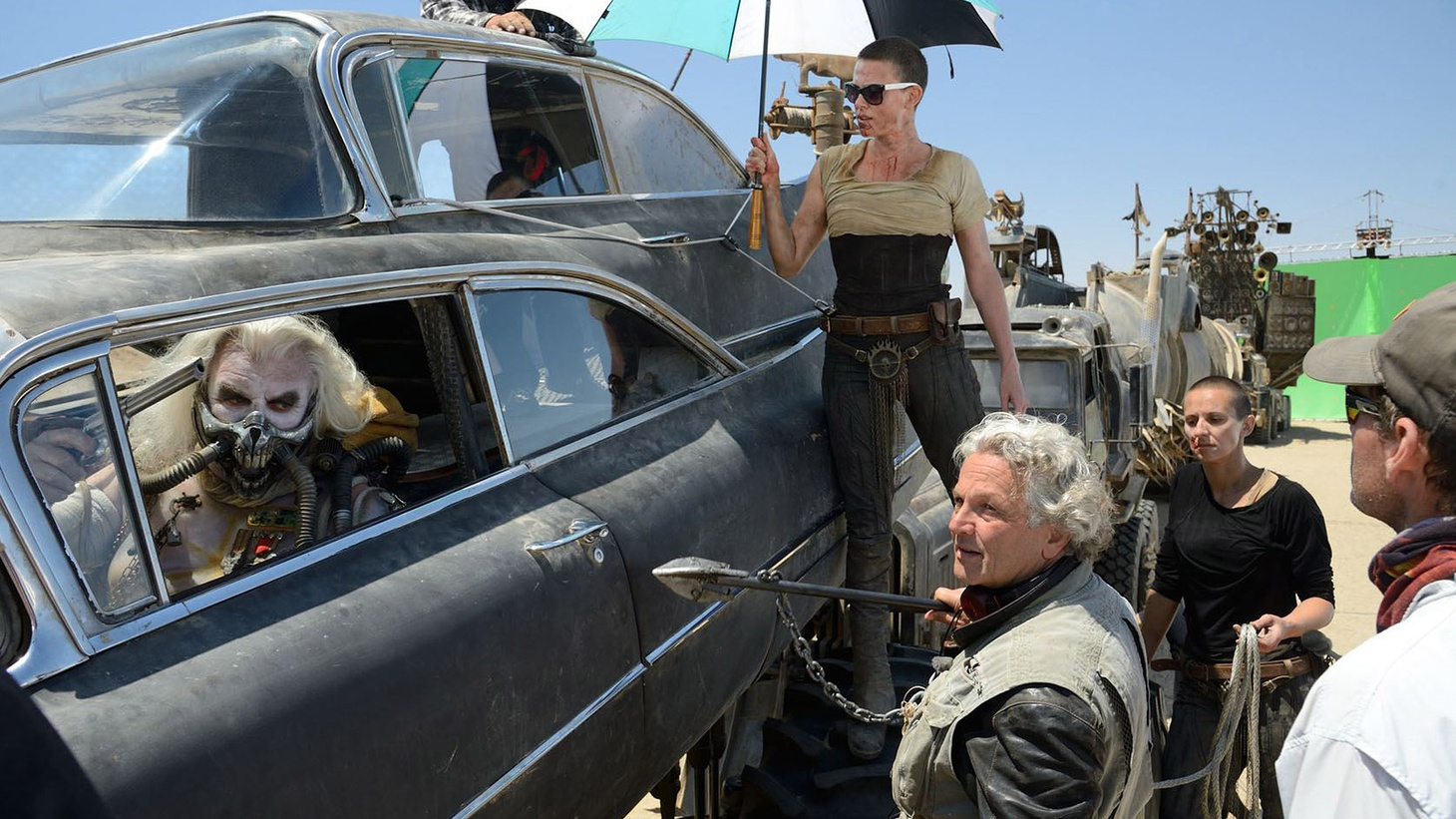Director George Miller joins Elvis Mitchell to discuss the Oscar nominated fourth installment of his film franchise, Mad Max: Fury Road.