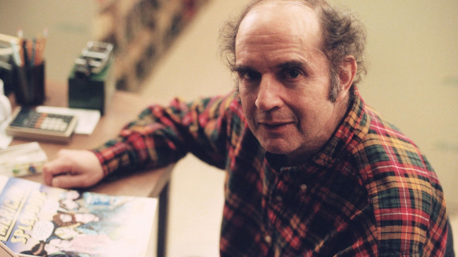 Writer Harvey Pekar was Cleveland's favorite dark, dysfunctional and curmudgeonly son. On the first anniversary of his death, we re-broadcast his 2003 interview with Elvis Mitchell.