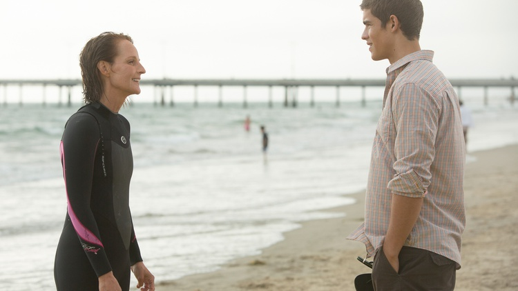 Helen Hunt learns to surf in her second feature, Ride, as writer, director and star.