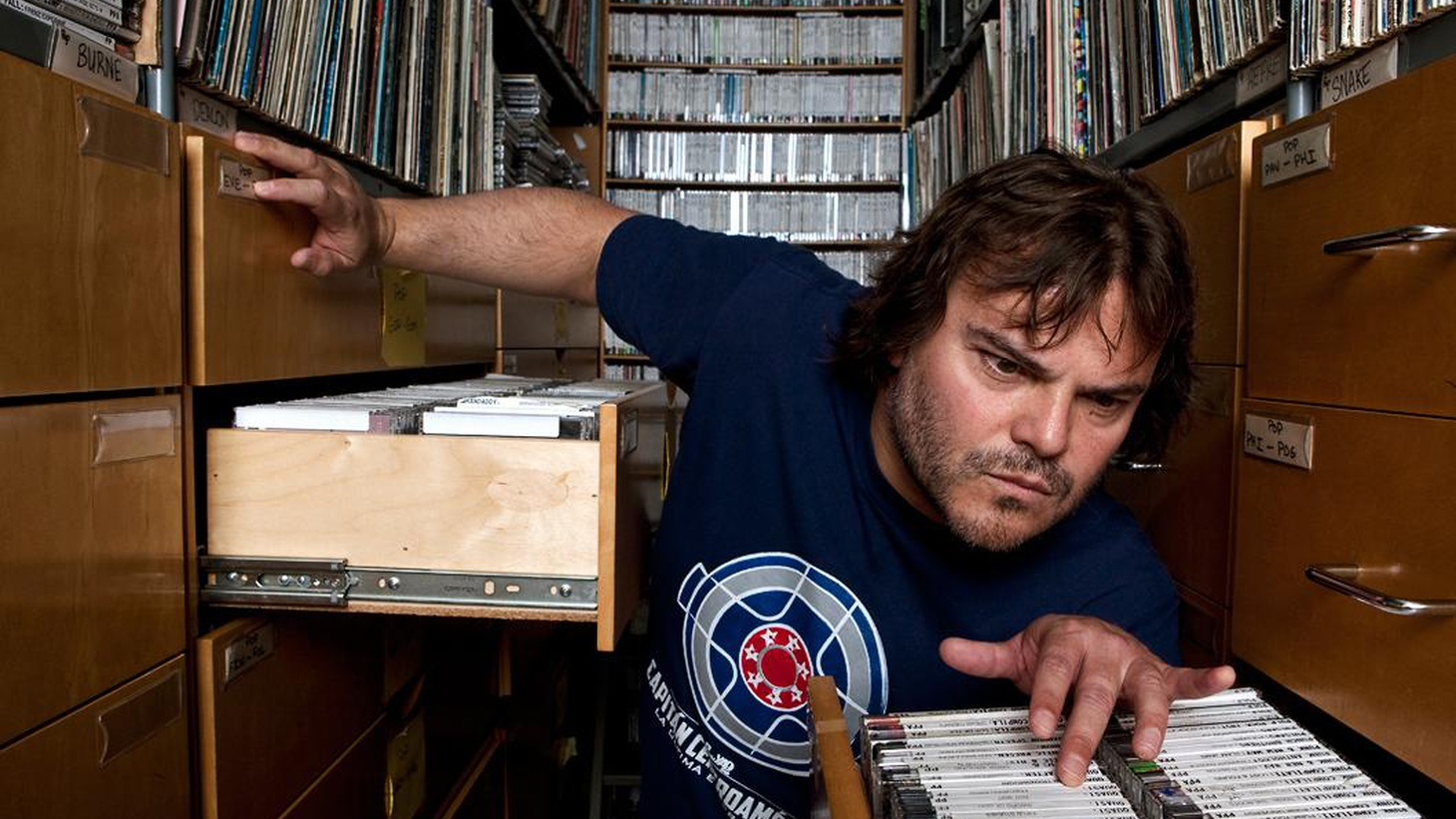 """Elvis Mitchell talks to actor Jack Black about his most recent role as the title character in Richard Linklater's """"Bernie."""""""