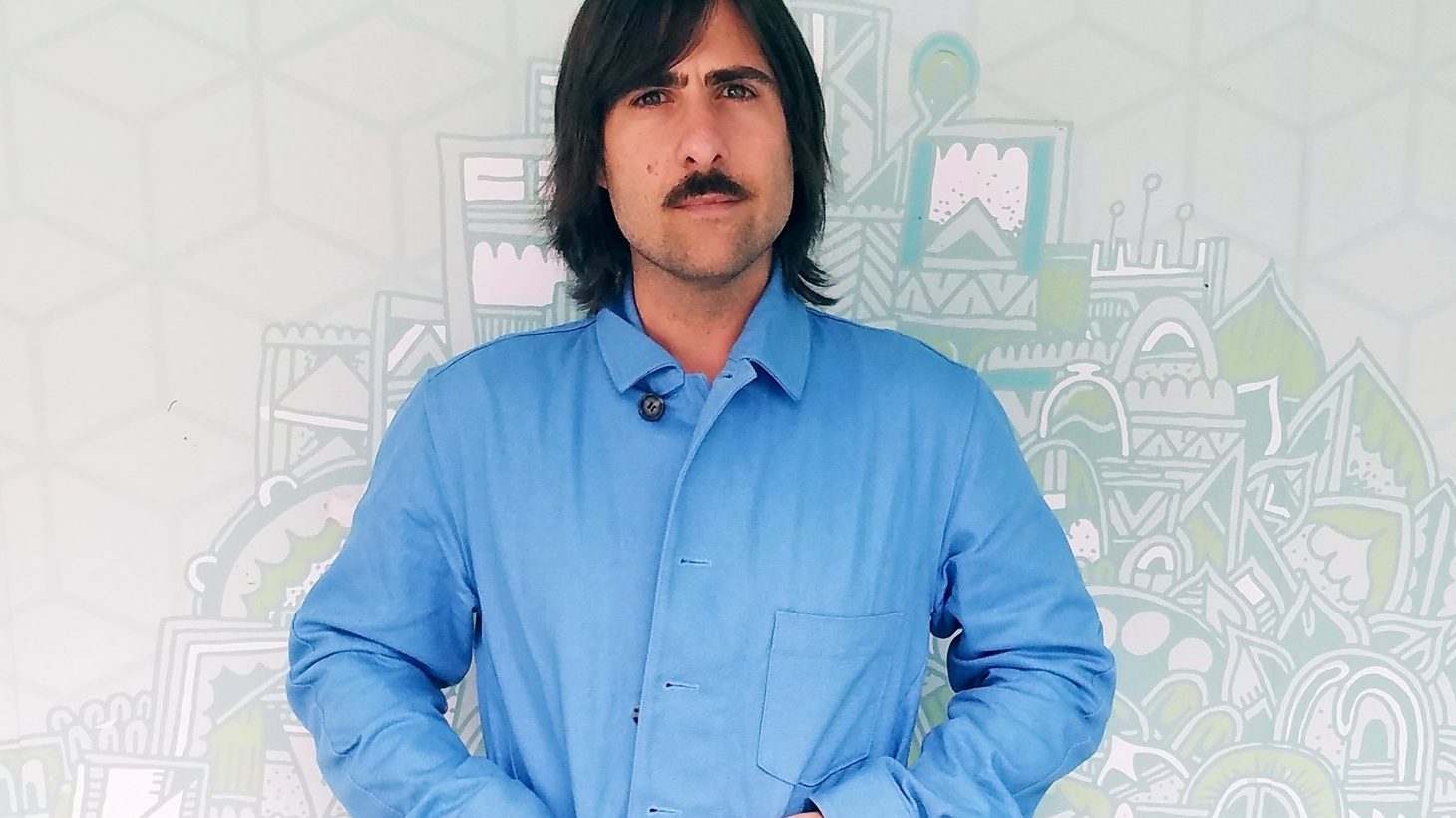 Actor Jason Schwartzman visits The Treatment to talk experimental animation in his new project My Entire High School Sinking into the Sea.