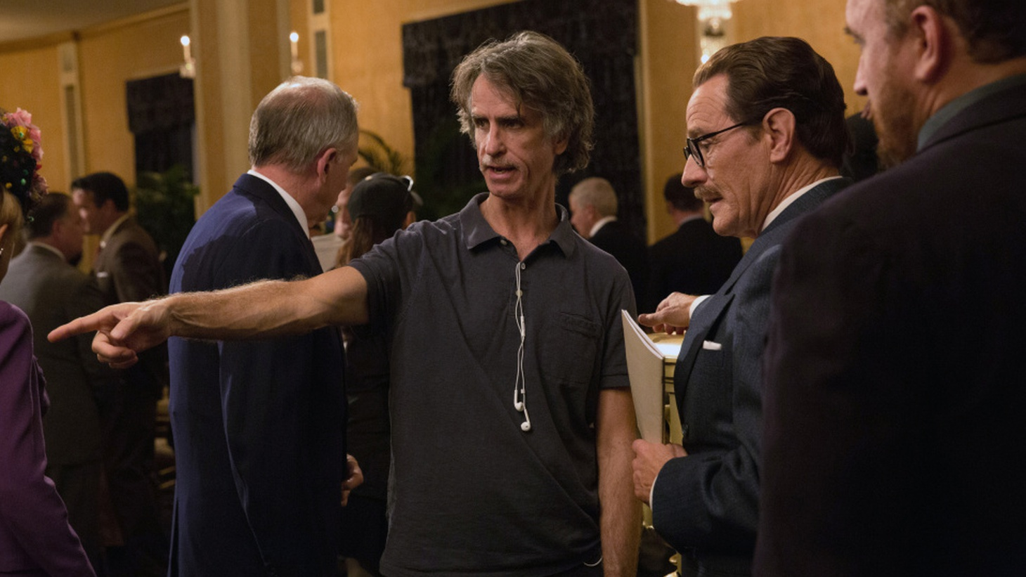 "Director Jay Roach joins Elvis Mitchell to discuss the role screenwriter Dalton Trumbo played in the ""Hollywood Ten"" as told in the film Trumbo."