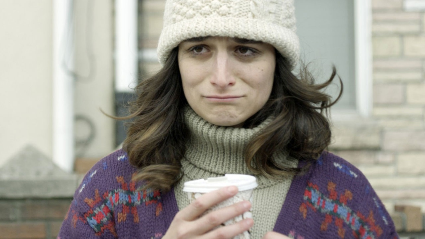 """""""I don't want to scrub myself clean. I'm always interested in characters when they misbehave because of hurt."""" Comedian Jenny Slate on her first starring role."""