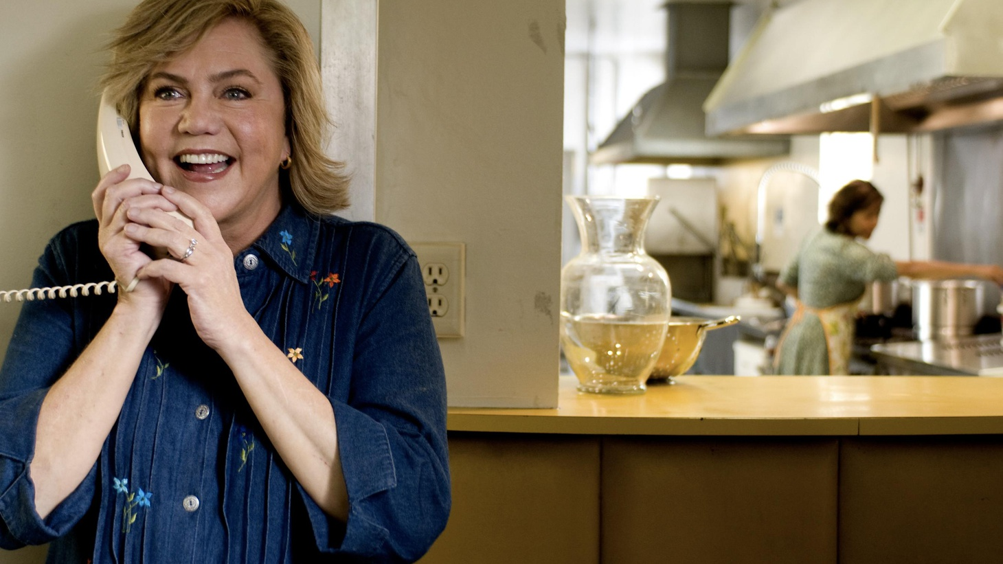WEB EXCLUSIVE: Elvis Mitchell talks to legendary actress Kathleen Turner about her latest film, 'The Perfect Family.'
