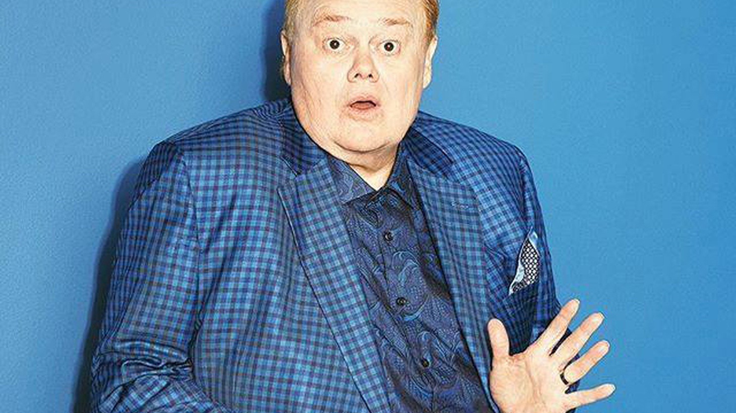 Comedian Louie Anderson channels his mother in his new book, Hey Mom.