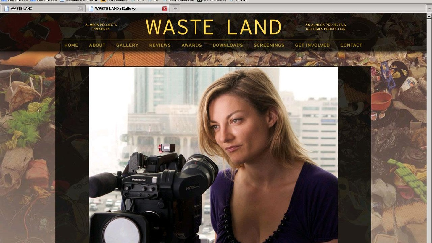 The Amish, blind mountain climbers, fighting for nuclear disarmament... Director Lucy Walker's (Countdown to Zero, Devil's Playground, Blindsight) new film, Waste Land, is about waste becoming art. It's drama and non-fiction.