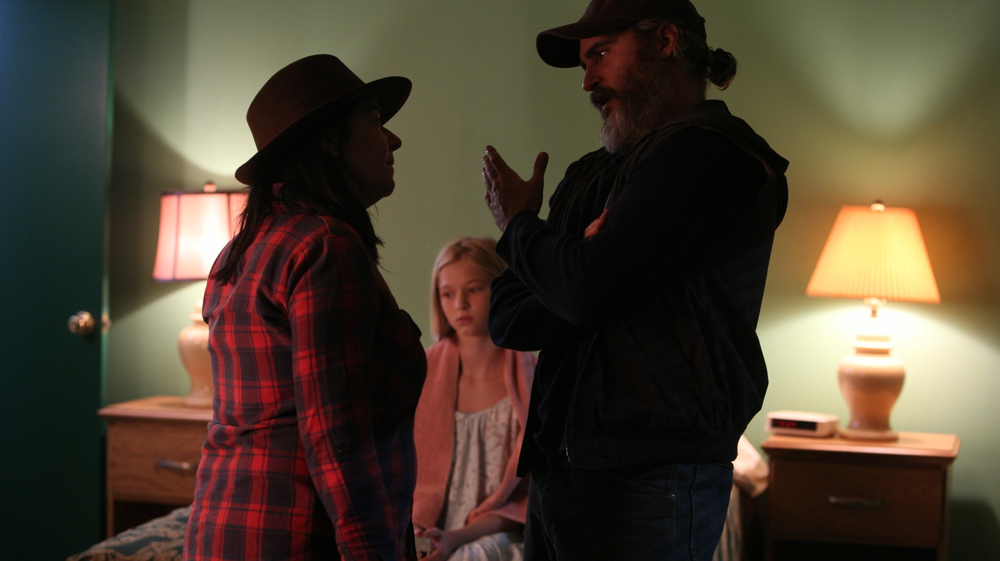 """Director Lynne Ramsay and actor Joaquin Phoenix discuss adapting """"You Were Never Really Here"""" to film."""