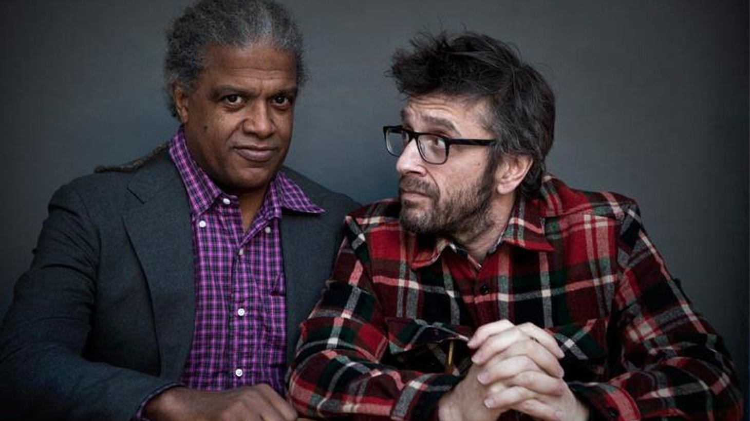 Elvis Mitchell sits down with WTF podcast host Marc Maron to discuss comedy, tragedy, and getting people to talk about it.