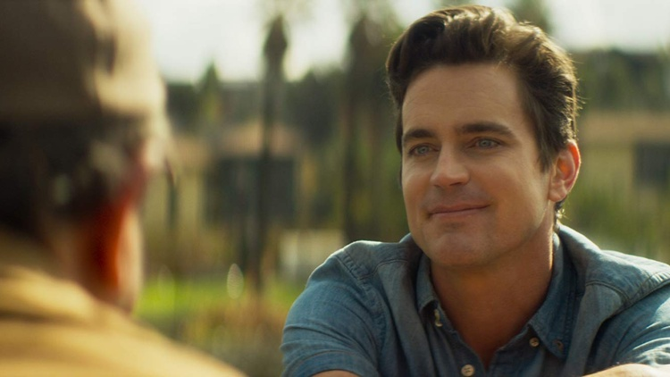 "Actor Matt Bomer on getting comedic in ""Papi Chulo""."