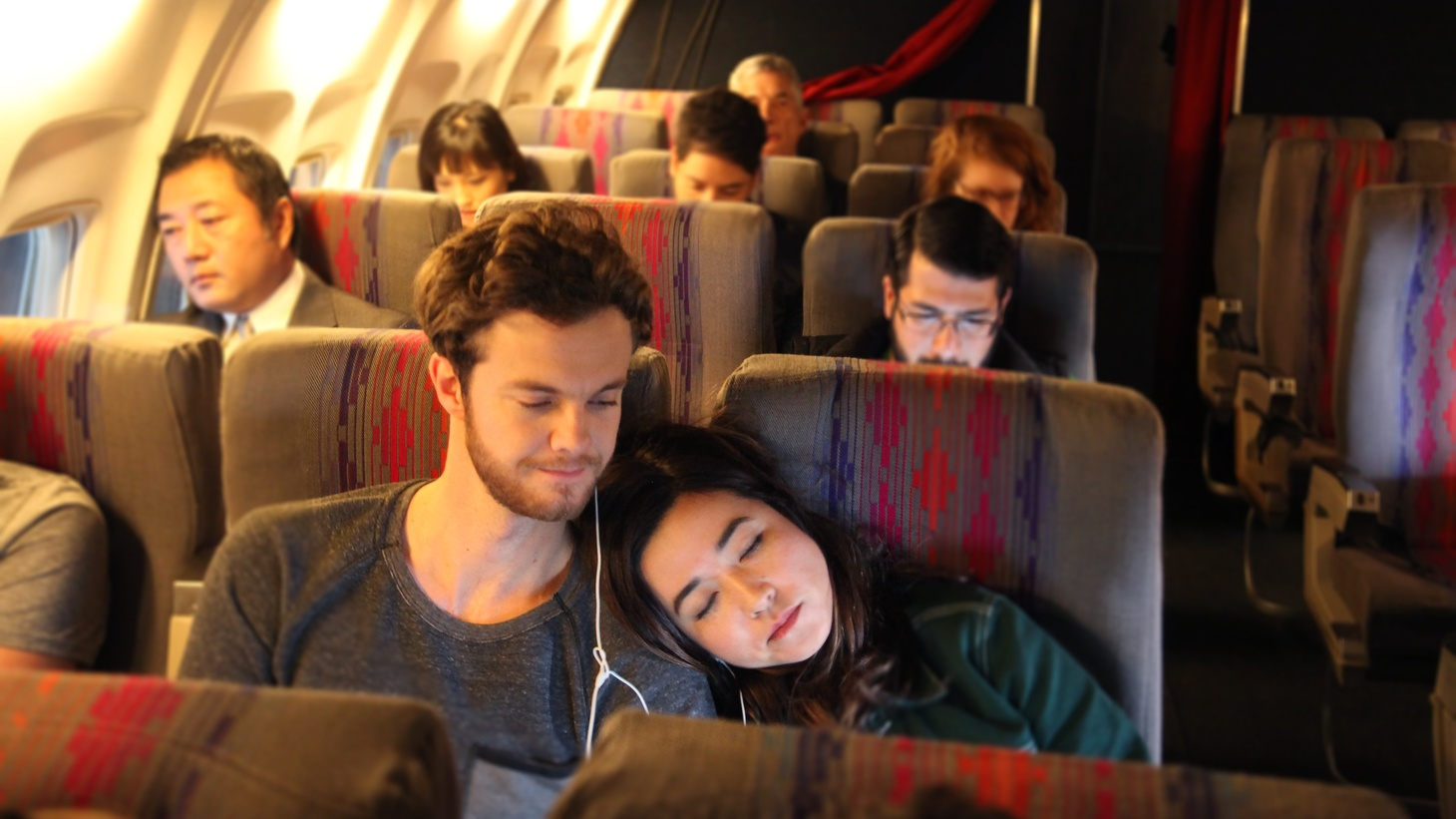 "Actors Maya Erskine and Jack Quaid on real life chemistry translating to screen in ""Plus One""."
