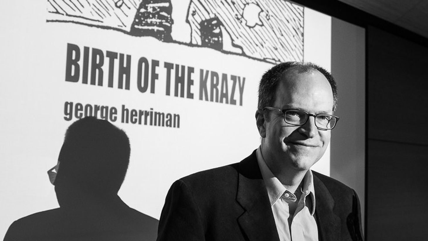 Author Michael Tisserand dives into the lesser known life of cartoonist George Herriman in his biography, Krazy.