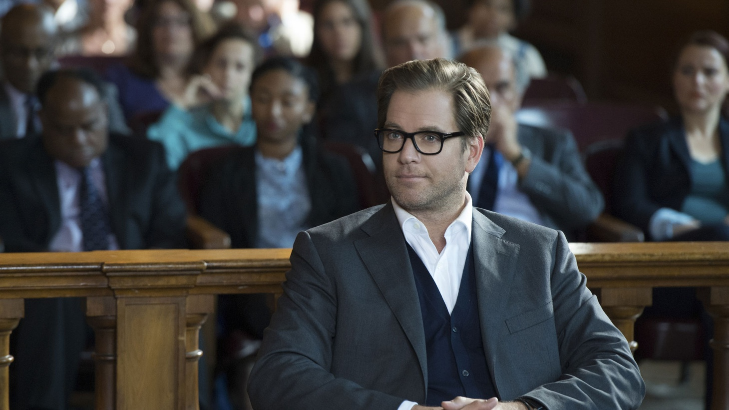 """Actor Michael Weatherly discusses making the move to """"the guy"""" in 'Bull.'"""