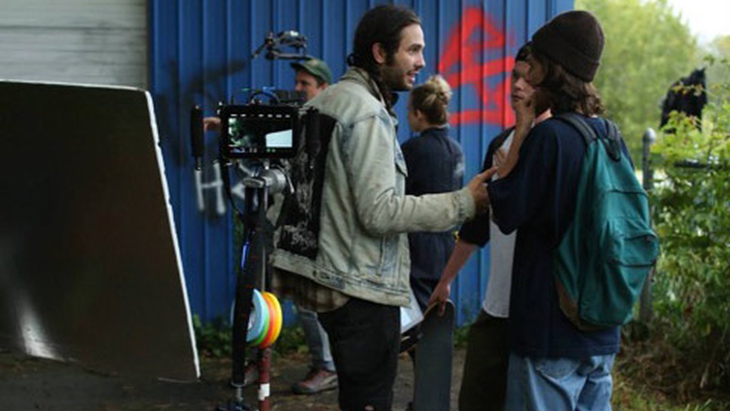 EXCLUSIVE PODCAST:Filmmaker Miles Joris-Peyrafitte joins Elvis Mitchell to discuss the realism of coming of age in As You Are.