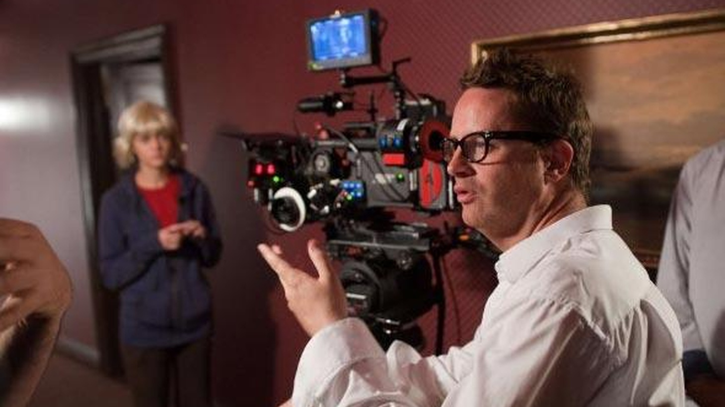 Director Nicolas Winding Refn talks with host Elvis Mitchell about his new film, Drive, starring Ryan Gosling.