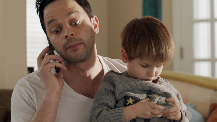 Nick Kroll talks about growing up in his new film as actor/writer and first time feature producer, Adult Beginners.
