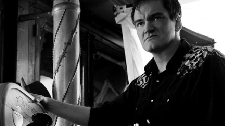 Quentin Tarantino takes over as head programmer at LA's New Beverly cinema, using many of the film prints from his own personal collection.