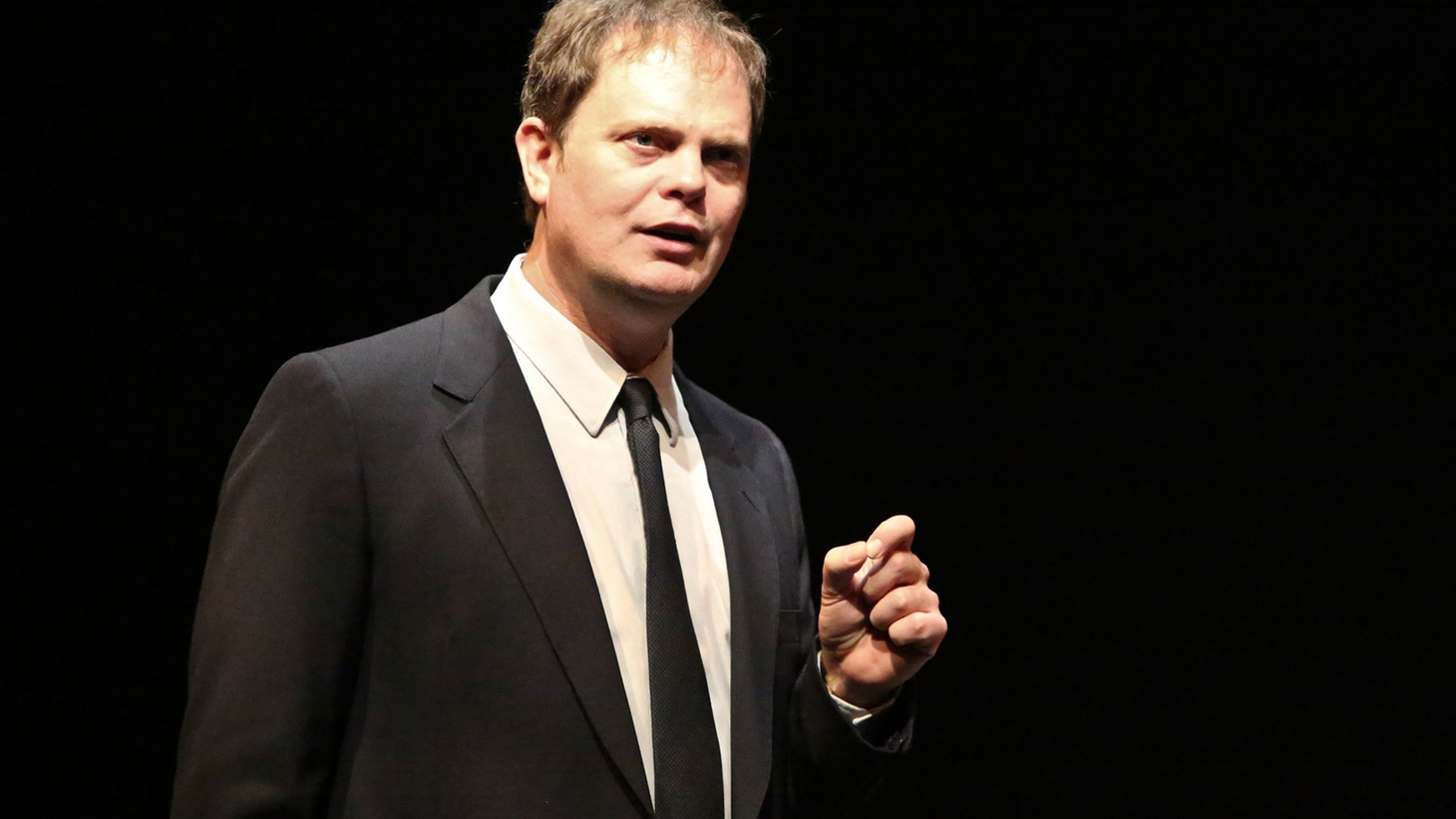 Actor Rainn Wilson stops by The Treatment to discuss his personal and professional transformations as highlighted in his new book The Bassoon King: My Life in Art, Faith, and Idiocy and in his monologue performance in Thom Pain (based on nothing).