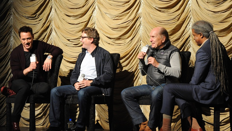 Director David Dobkin and stars Robert Duvall and Robert Downey, Jr. discuss their new film, The Judge. CONTAINS EXPLICIT LANGUAGE.