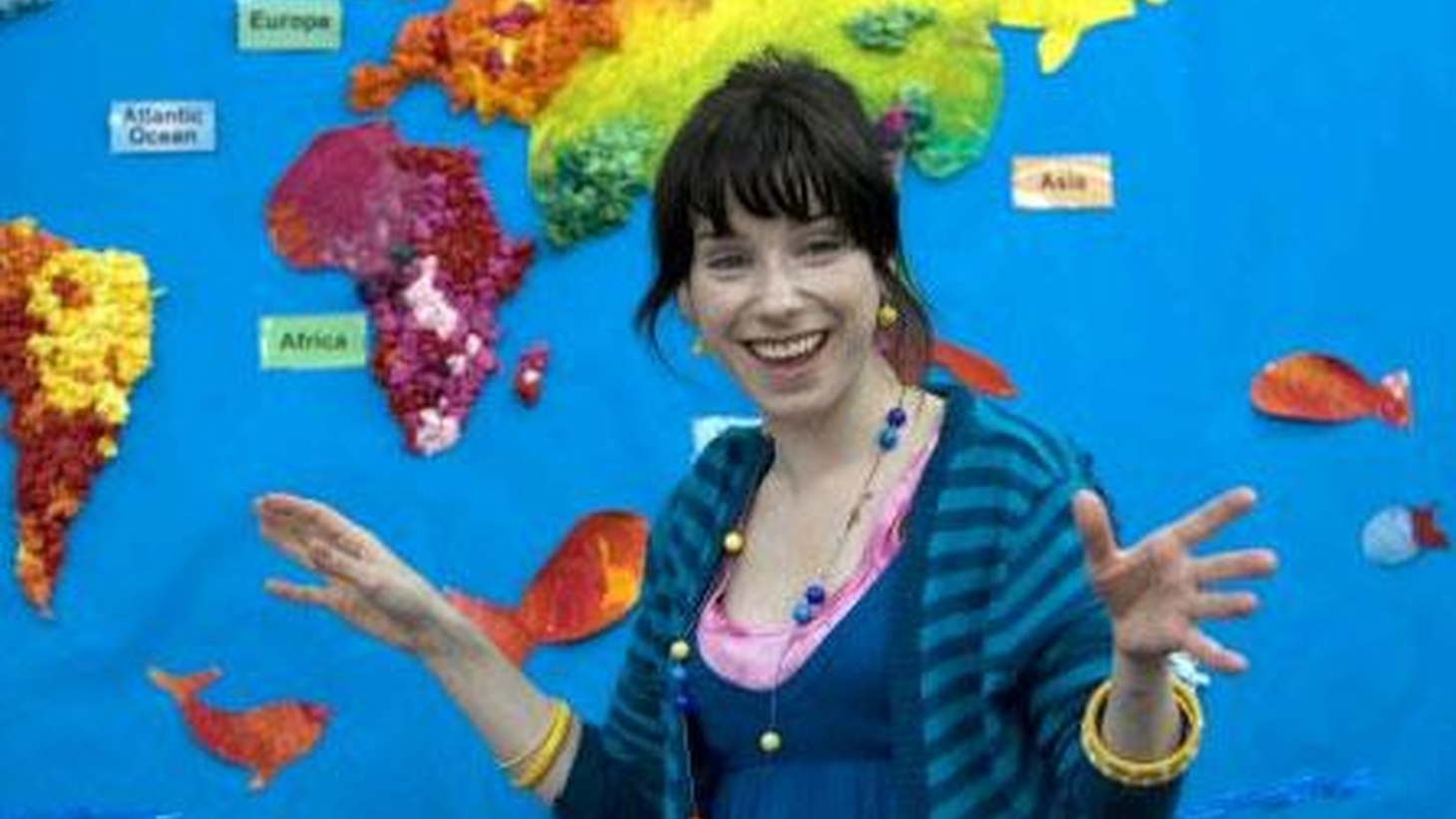 Actress Sally Hawkins has had quite a year, stemming from her third collaboration with writer-director Mike Leigh. Happy-Go-Lucky is bright-eyed comedy-drama that's won her audiences and accolades.