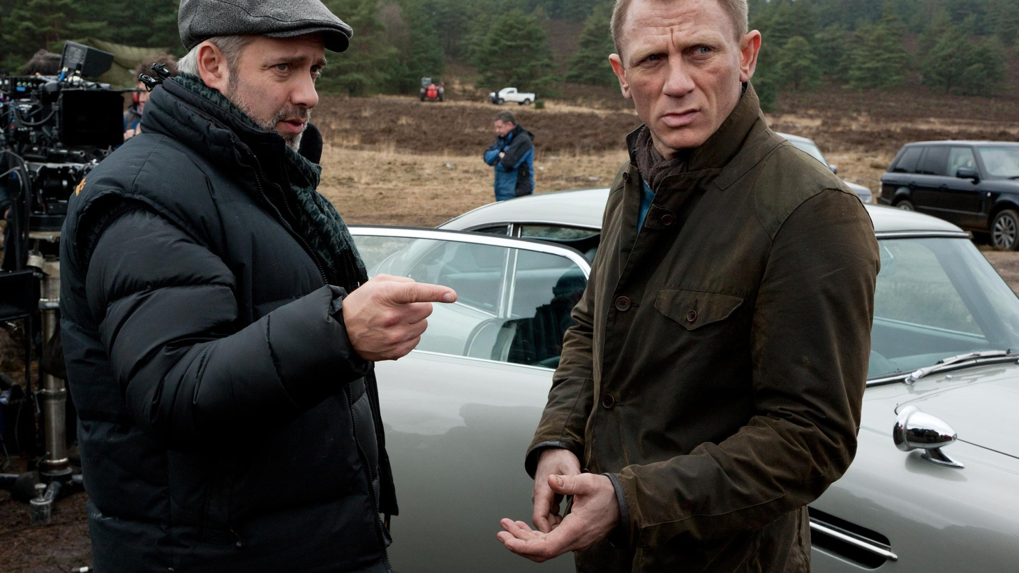"""Elvis Mitchell talks to """"American Beauty"""" director Sam Mendes about """"Skyfall,"""" the twenty-third film in the Bond franchise."""