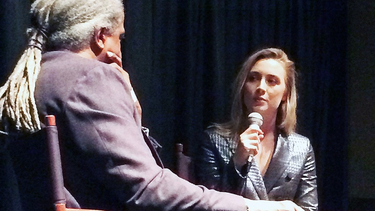 Elvis Mitchell in conversation with Brooklynstar Saoirse Ronan, recorded live at the Landmark Theater.