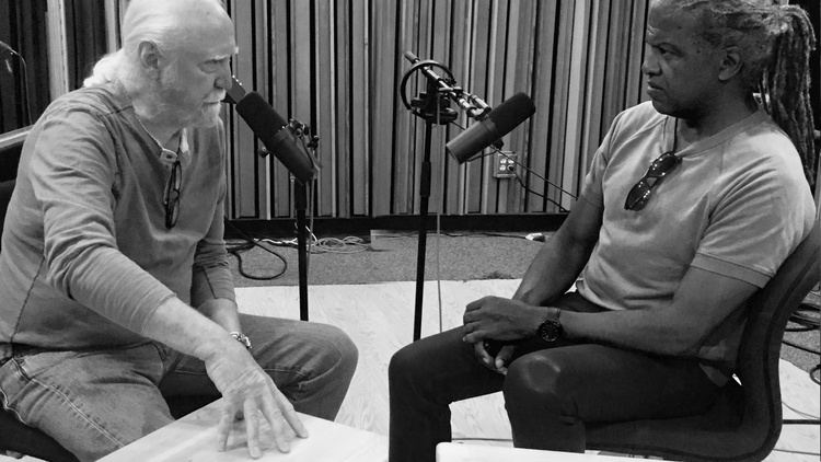 The Walking Dead actor Scott Wilson discusses his 50 year career catapulted by In the Heat of the Night co-star Sidney Poitier.
