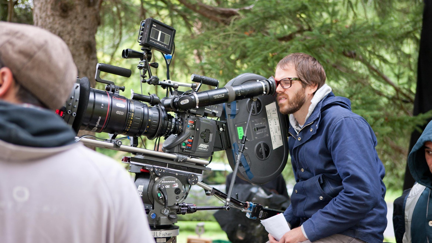 Sean Durkin talks about growing up in Hampstead Heath, what movies really scare him, and how he came up with one of the most tongue-twisting movie titles of the year...