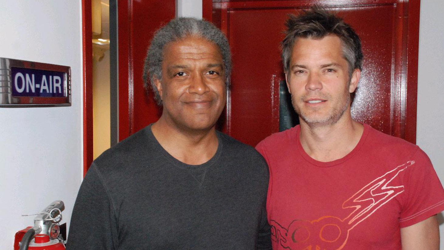 Actor Timothy Olyphant is unique. He's best known for western lawmen in the 21st century, first in HBO's Deadwood, and now in Justified on FX. He discusses bringing them to life in this new world.