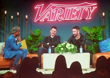 "Trent Reznor and Atticus Ross: ""Variety's 2018 Music for Screens Summit"""