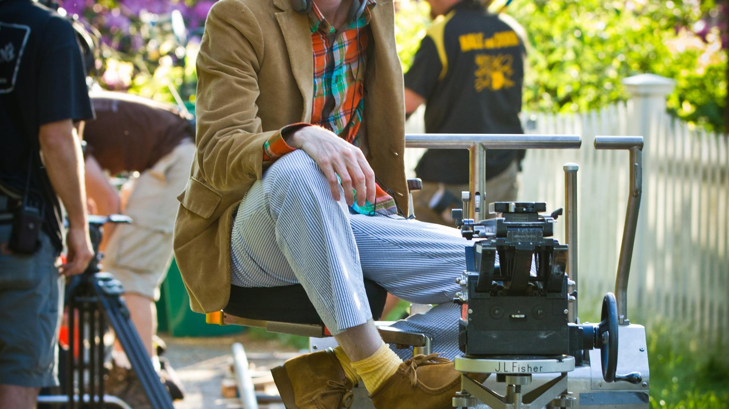 Elvis Mitchell welcomes Wes Anderson back to The Treatment to talk about his new feature film, 'Moonrise Kingdom.'