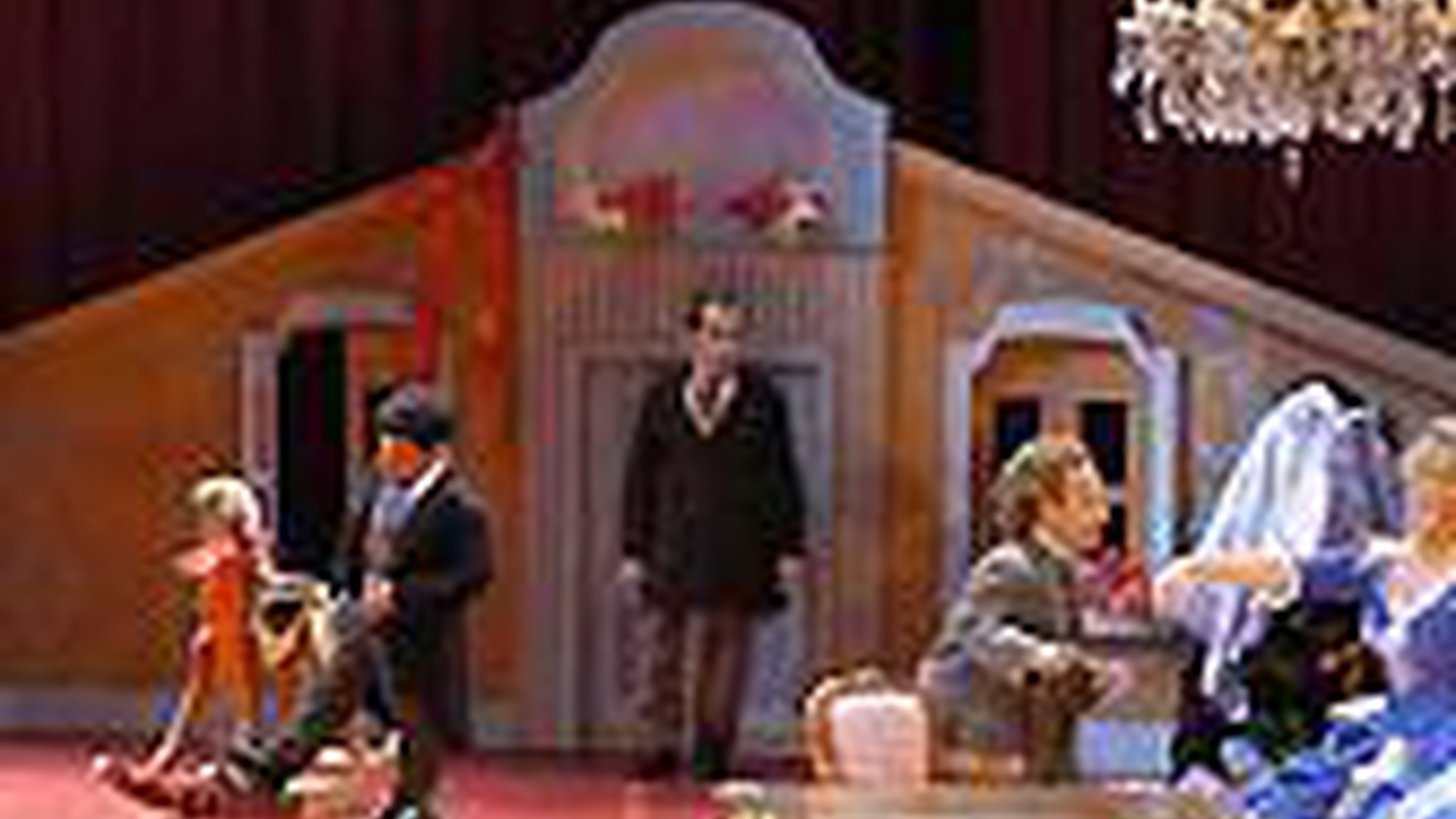 """Today's theater directors love big gimmicks.  But too often, once a stage auteur has set King Lear on a Spaceship, or Uncle Vanya in a cancer ward, there's not much else for the director to do.  The big gimmick in the reworking of A Doll's House (now playing at UCLA Live!) is that the set is miniature size... and so are some of the actors.  You see, in this version of Ibsen's classic drama, the men are all played by """"little people""""..."""