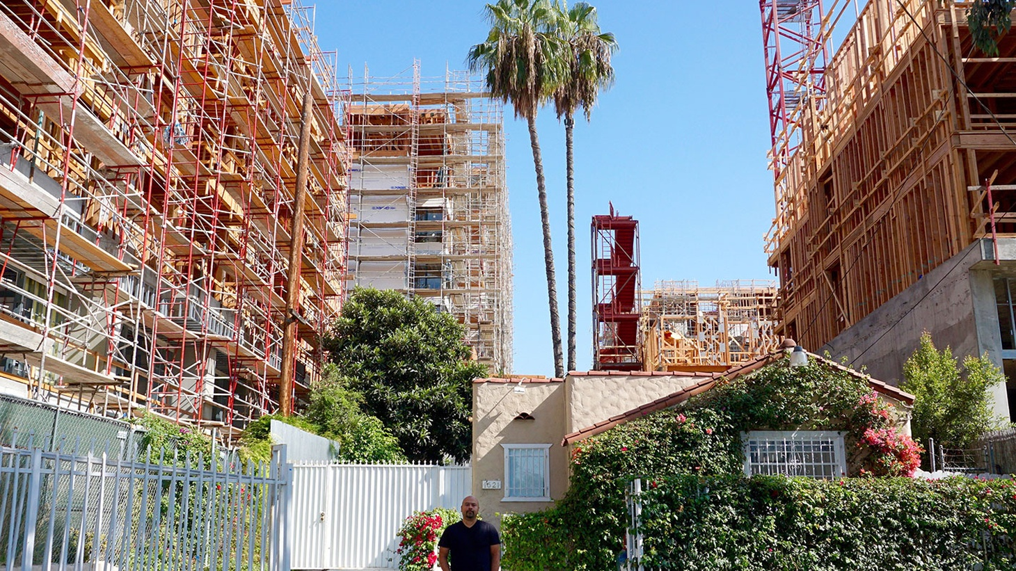Los Angeles is growing up, becoming denser and more urban. But there's still not enough housing. Who is L.A. for?      This eight-part series is supported by the Conrad N. Hilton Foundation.