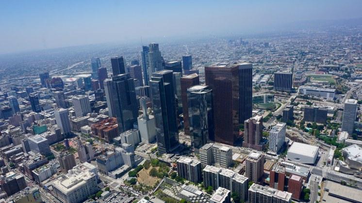 LA, a birds eye view
