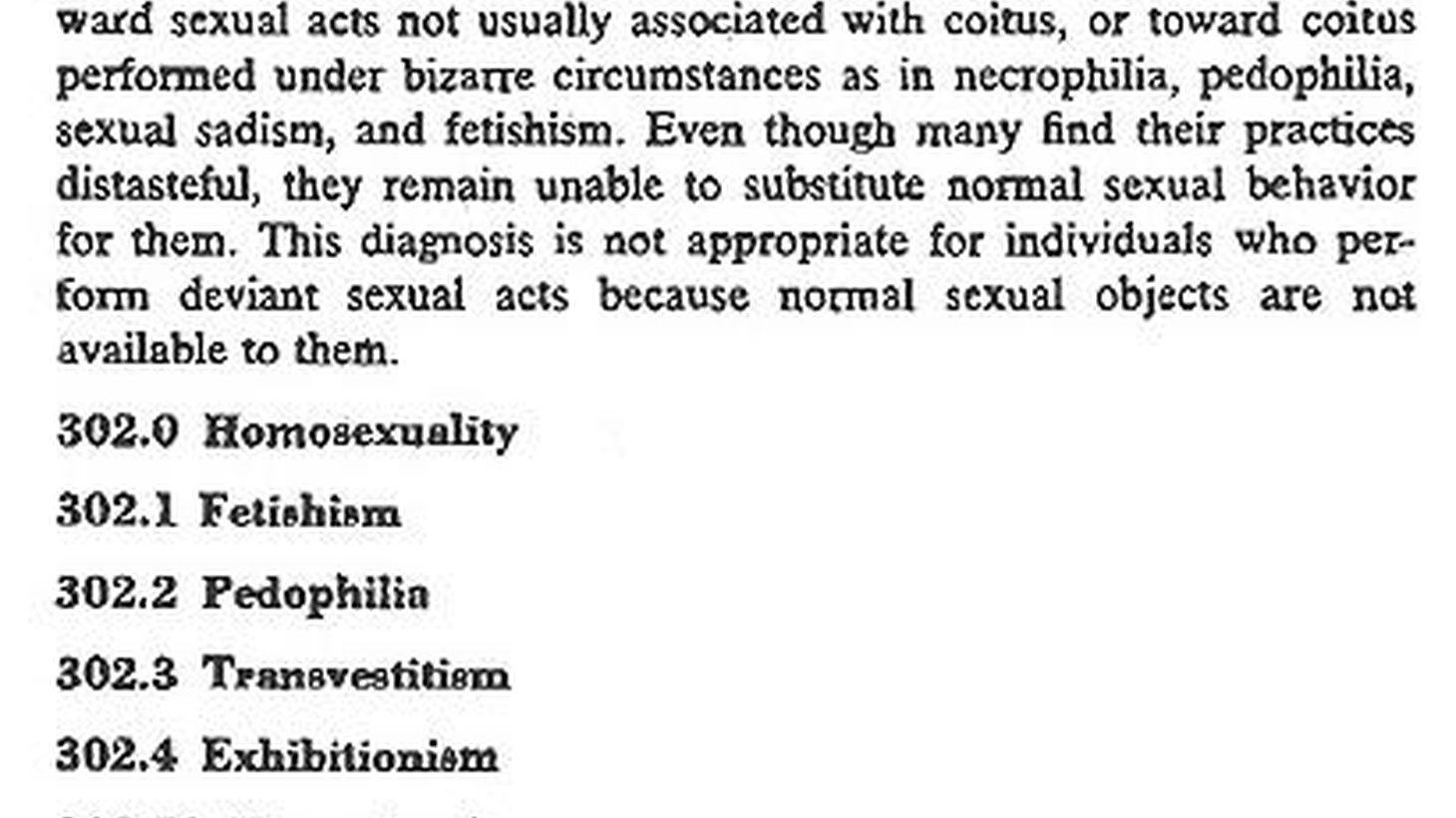 The story of how the American Psychiatric Association decided in 1973 that homosexuality was no longer a mental illness.