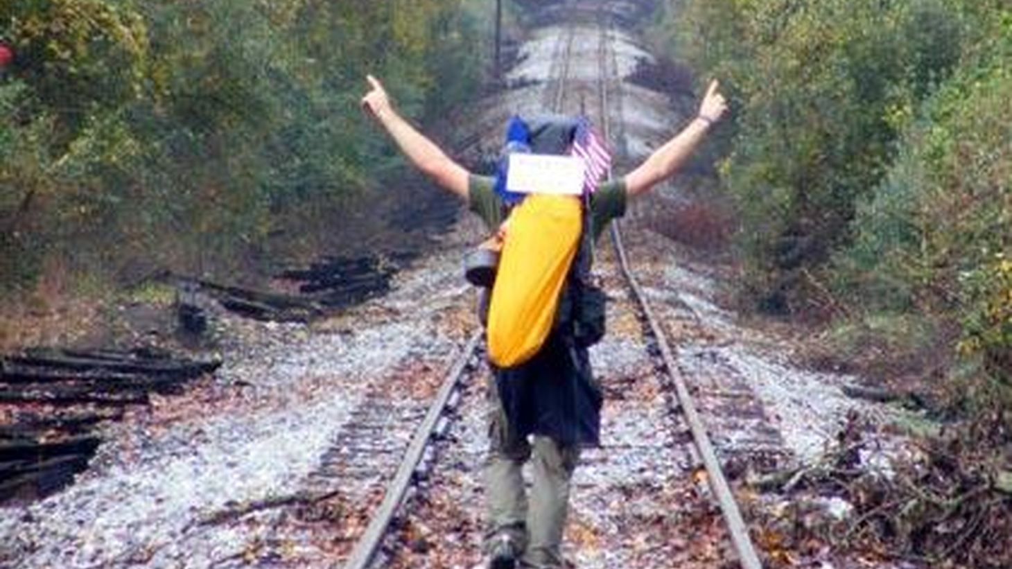 Stories of people who feel compelled to get out and go somewhere. Including one man who decides to take a trip from Philadelphia to San Francisco — by foot.