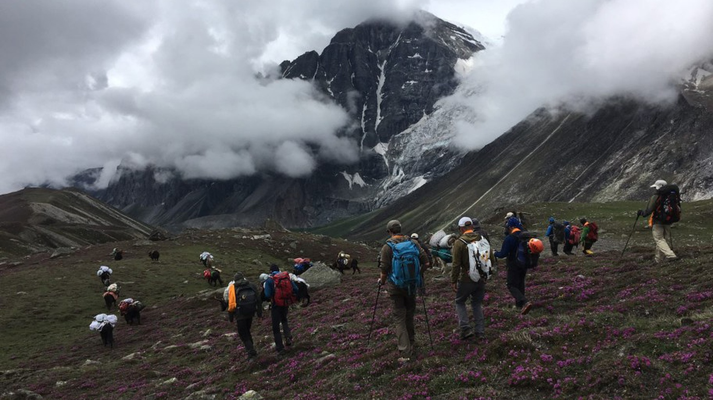 A former mountaineer returns to the Himalayas for one last climb – to bury his long lost friend. A story from KCRW's newest podcast: The Document.