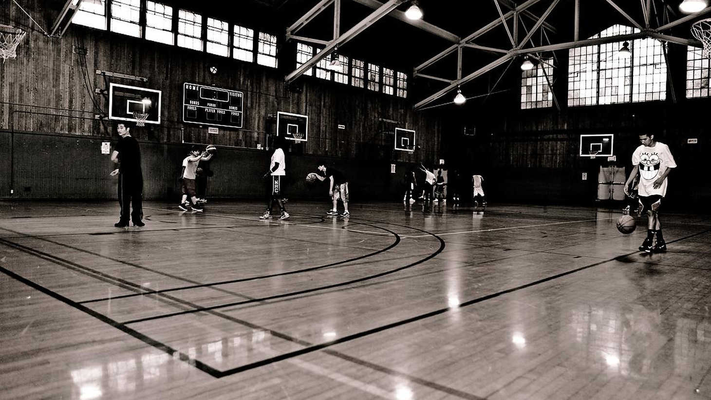 This week, two stories about life, family and basketball... (Repeated from October 21, 2011)