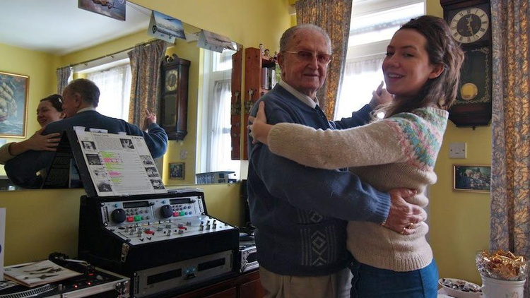 The story of an octogenarian dancer teaching a 28-year old how to waltz.