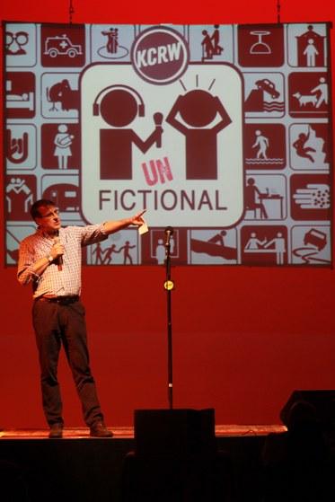 UnFictional host Bob Carlson