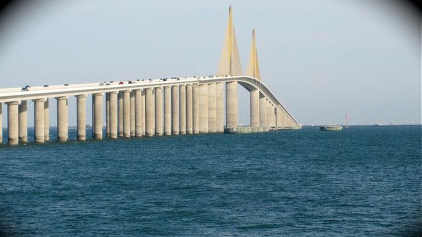 This radio piece, created by independent producer Rich Halten, is the story of a man who threw himself off the Sunshine Skyway Bridge over Tampa Bay in Florida....