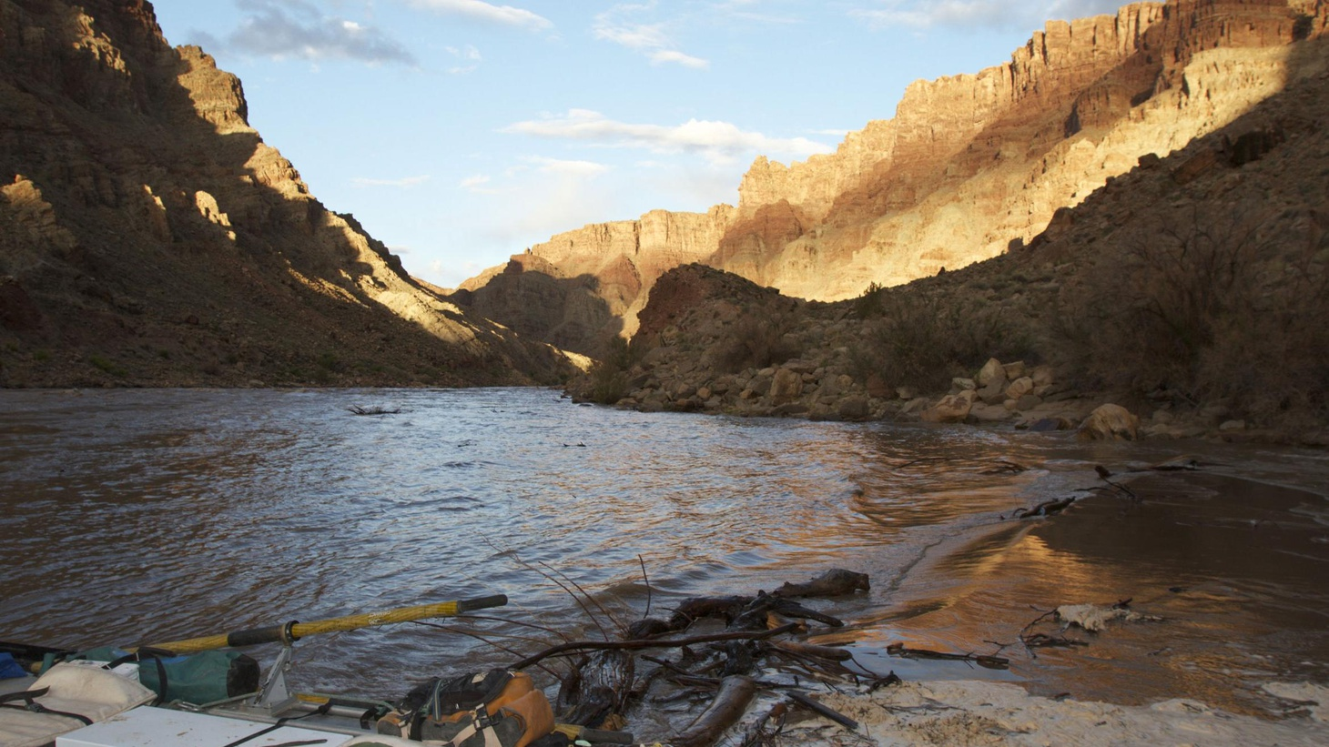 Alex Chadwick's story of two men whose troubles and tragedies find respite in the raging rapids of Cataract Canyon.