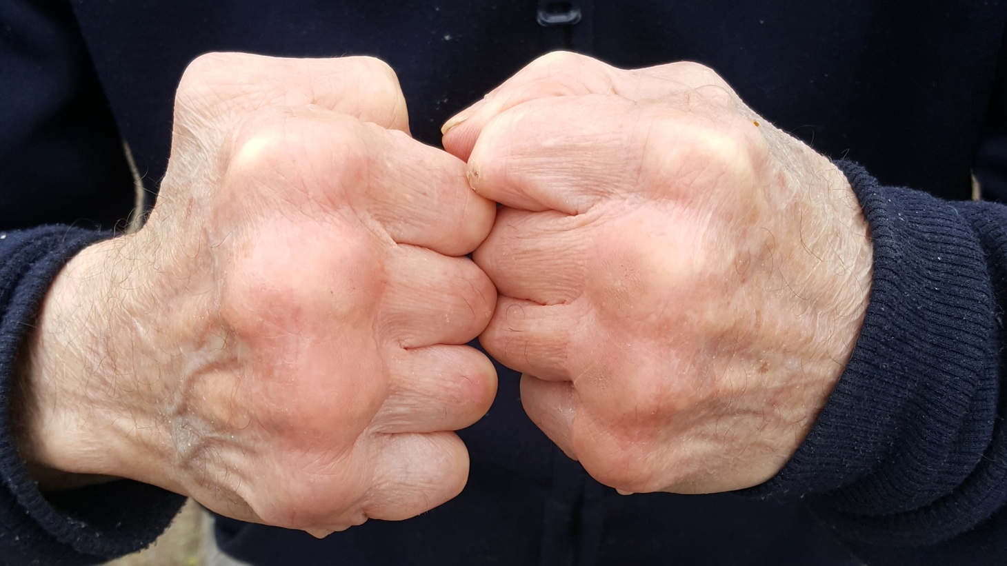 Johnny punches steel. Everybody in the neighborhood knows it. That's where he got his nickname: Johnny Knuckles. But not everybody knows why he punches steel. The dark past that he's willing away with every blow to his favorite steel pole.