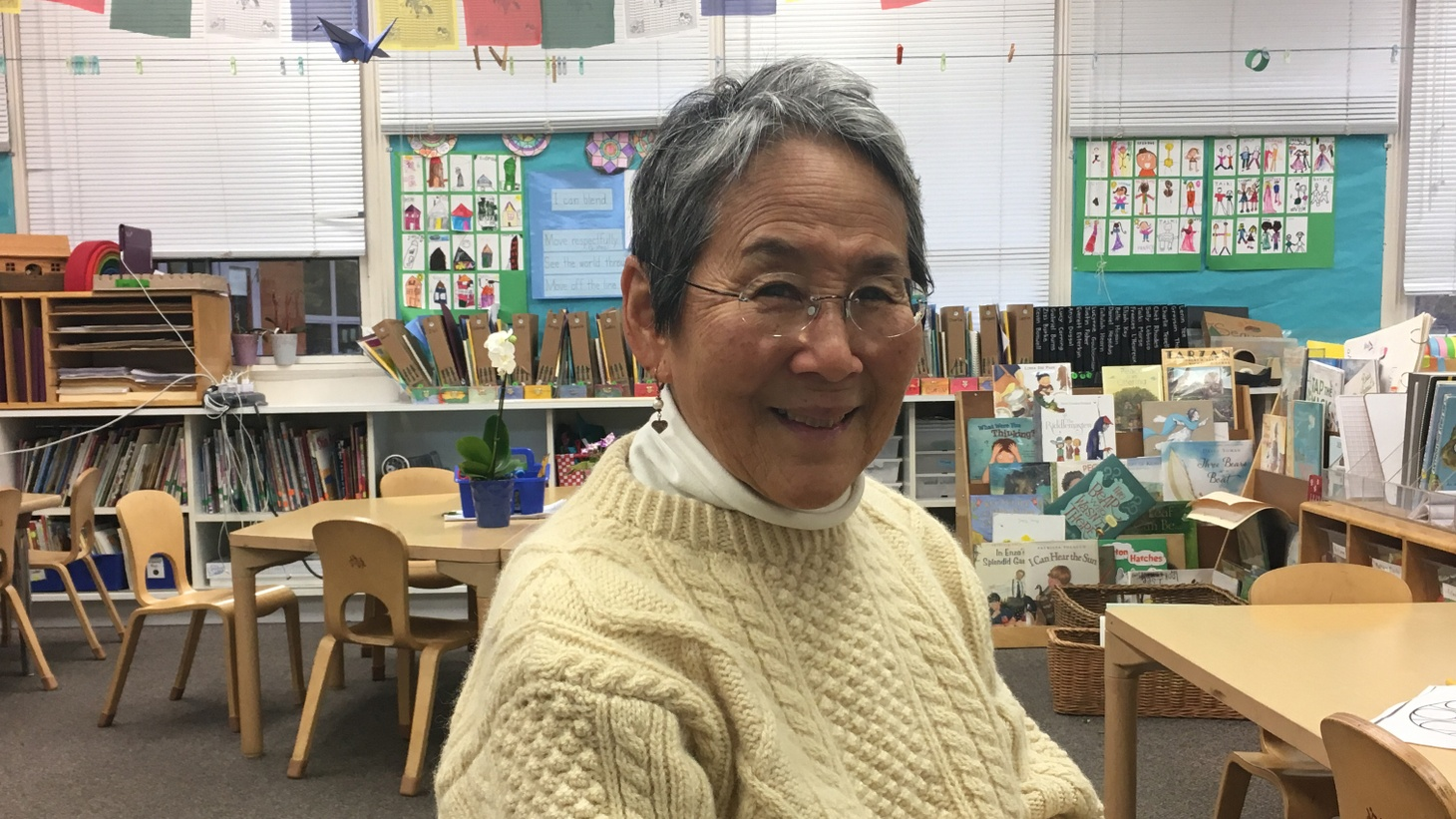 Mrs. Daijogo was an unforgettable kindergarten teacher – so unforgettable, that as an adult, Hannah went back to her old classroom, to watch her former teacher work. But watching her teacher with adult eyes, Hannah realized that Mrs. Daijogo was teaching her students more than how to read and write.