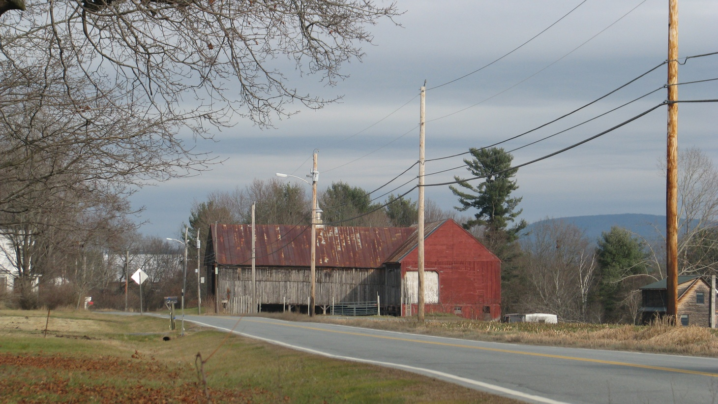 A farmer in a small New England village gets up early to milk his cows, and he's never seen alive again.