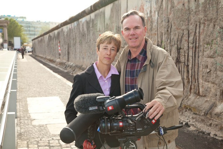 Mark and Gabriele Hayes return to the Berlin Wall as documentary filmmakers