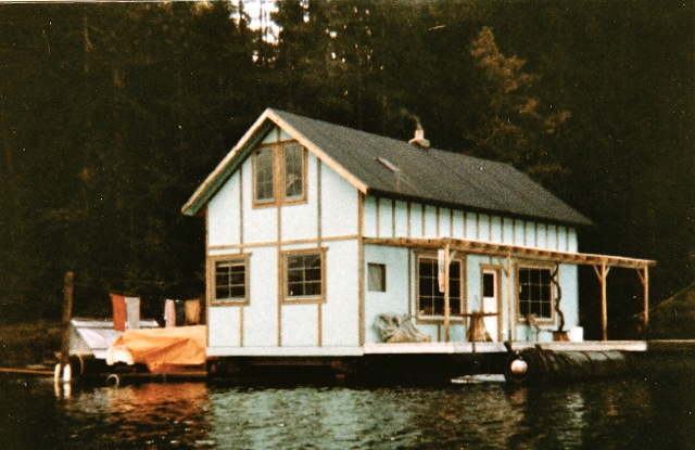 The float house where Willow tuned in to Joseph and Hun